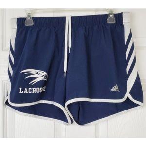 Adidas lacrosse climalite shorts size M